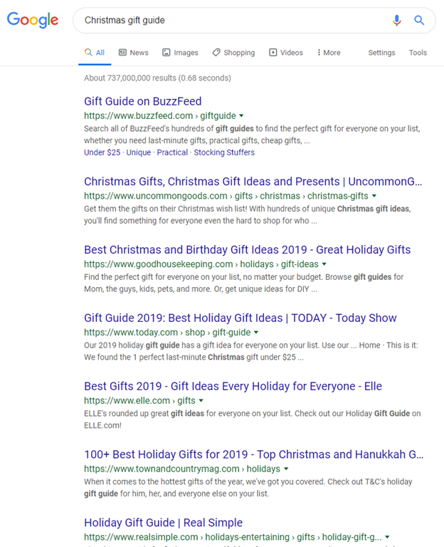 Christmas Gift Guide Google Search